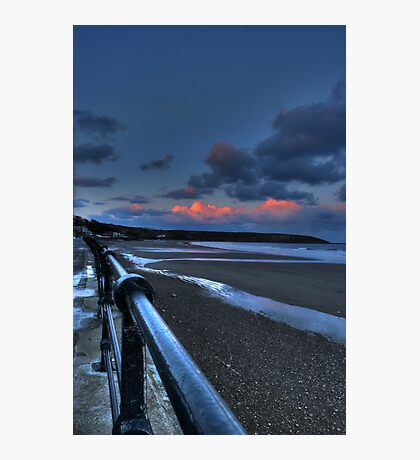 Filey HDR Photographic Print