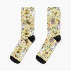 Midsommar Pattern #1 Socks
