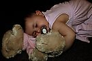 After A Long Hard Day Of Partying... I Lay Down Myself To Sleep On My Birthday Bear! by Evita