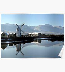 Blennerville Windmill, Kerry, Ireland Poster