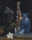Buddha Still Life by Michael Beckett