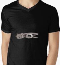 """""""lost"""" Captin goggles Mens V-Neck T-Shirt"""