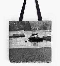 Little Girl at Play - Lake Arrowhead, CA Tote Bag
