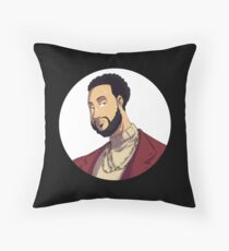 Portrait | Created by @cknightart Throw Pillow