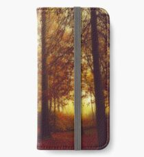 Fall Forest Colours iPhone Wallet/Case/Skin