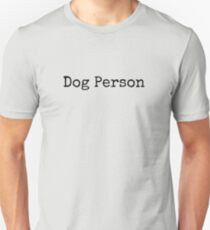Dog Person Slim Fit T-Shirt