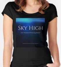 Sky High Fitted Scoop T-Shirt