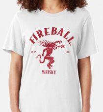 Fireball Cinnamon Whiskey Slim Fit T-Shirt