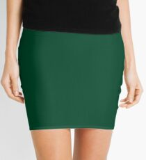 British Racing Green  Mini Skirt