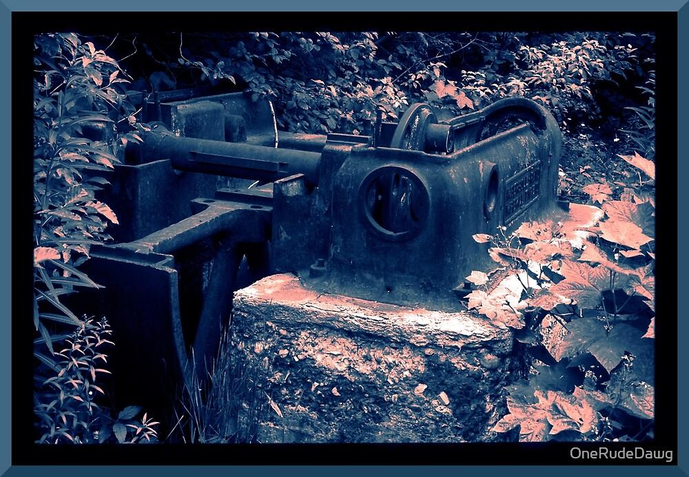 Abandoned Mine Equipment by OneRudeDawg