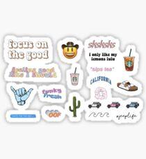 VSCO mixed pack aesthetic Sticker