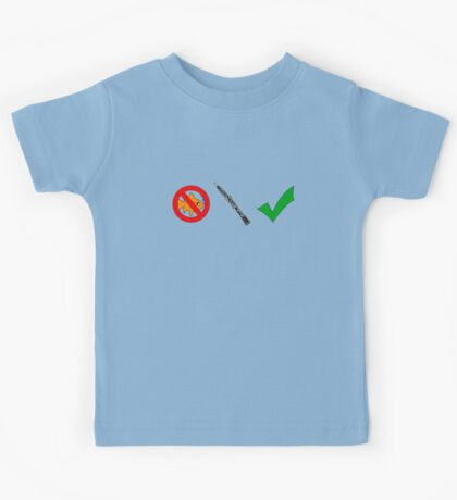 Fish-Free Oboe Check Kids Clothes