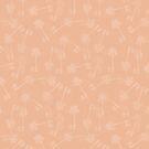 Cute palms pattern on nude by by-jwp