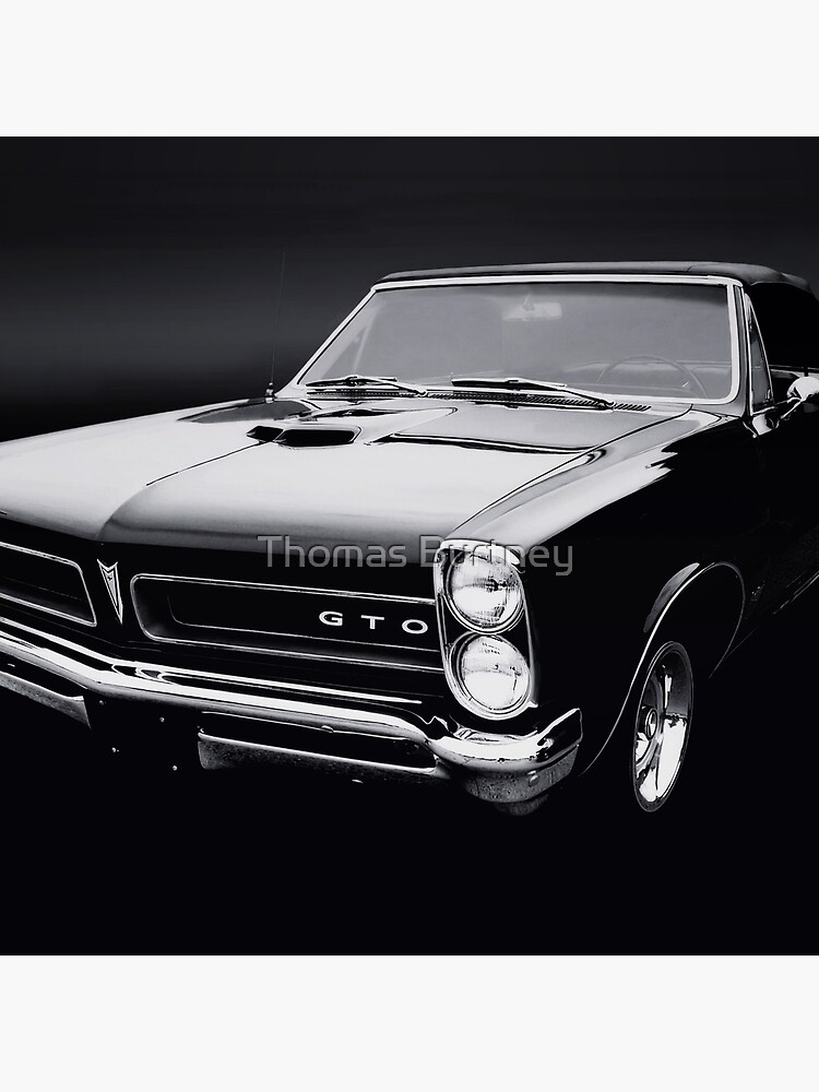 1965 Pontiac GTO B/W by Burtney