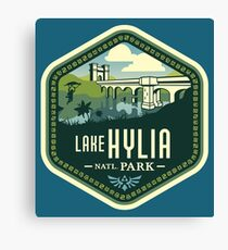 Lake Hylia National Park Canvas Print