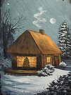 Winter Cottage by teresa731