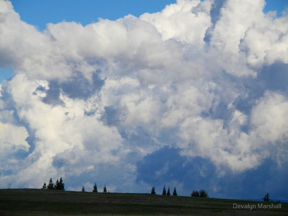 God's Abstract Canvas by Devalyn Marshall
