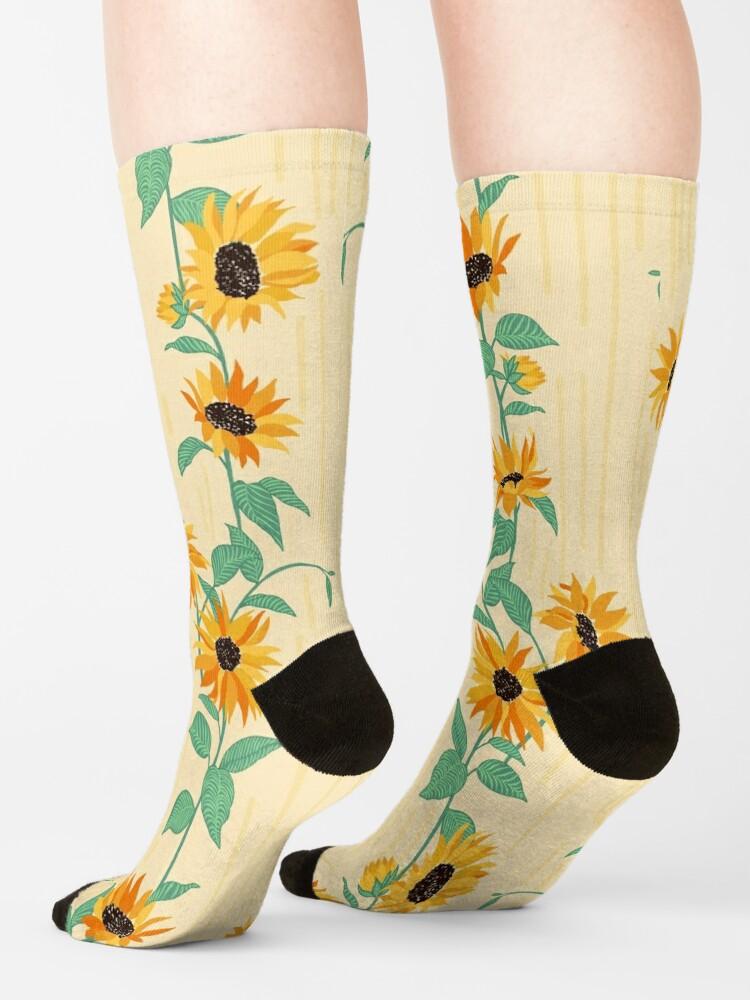 Alternate view of Sunflower Socks