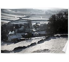Winter In Wharfedale Poster