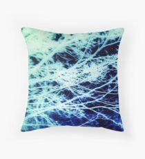 Acid Wash: Sea Foam Throw Pillow