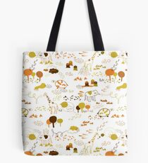 Animal Pattern Series – Safari Wildlife Tote Bag