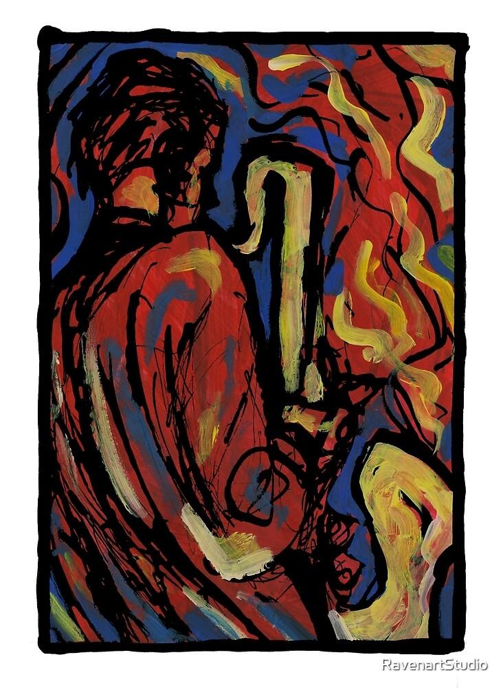 Hot Jazz 2 A Hot Passionate Art By Ravenart