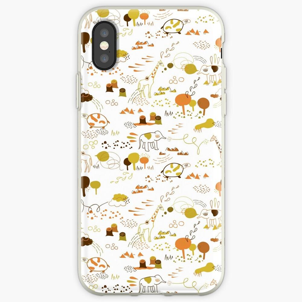 Animal Pattern Series – Safari Wildlife iPhone Case & Cover