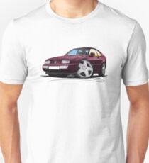 VW Corrado Maroon Unisex T-Shirt