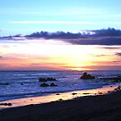 Malibu Sunset 3 by CallinoisArt