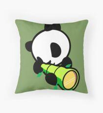 Bamboobazooka  Throw Pillow