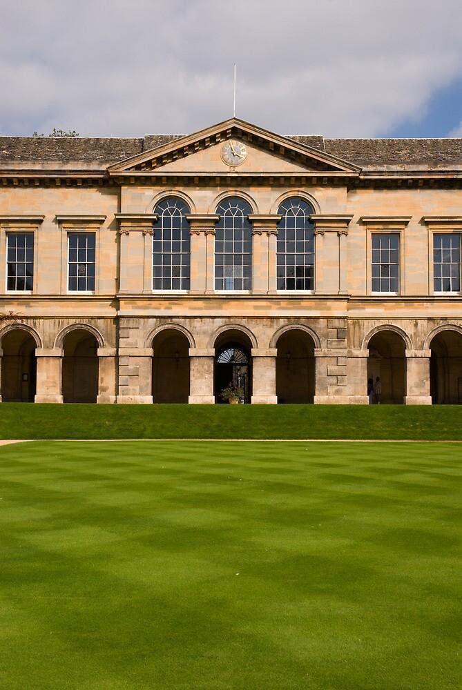 Worcester College Quad by Skye Hohmann