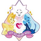 Steven Universe diamonds by Gamer-threads