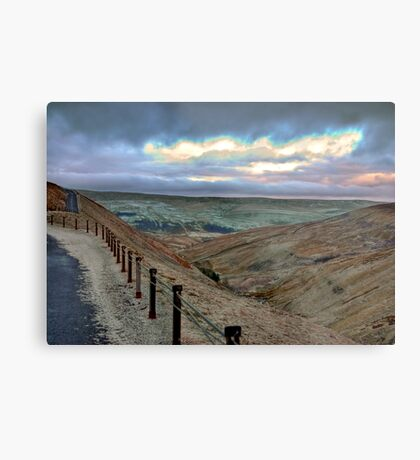 Swaledale from Buttertubs Pass Metal Print