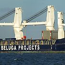 Beluga Stavanger - General Cargo Ship by Cecily McCarthy