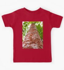 The Red Tree Trunk Kids Tee
