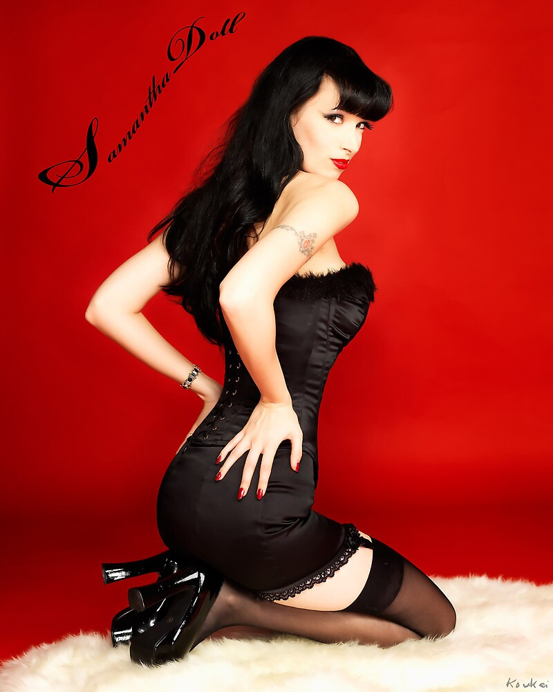 Samantha Pin Up Doll 1 by Samantha Doll
