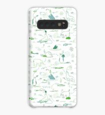 Animal Pattern Series – Arctic Creatures Case/Skin for Samsung Galaxy