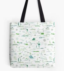 Animal Pattern Series – Arctic Creatures Tote Bag