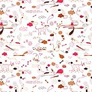 Animal Pattern Series – Domestic Pets by onocreates