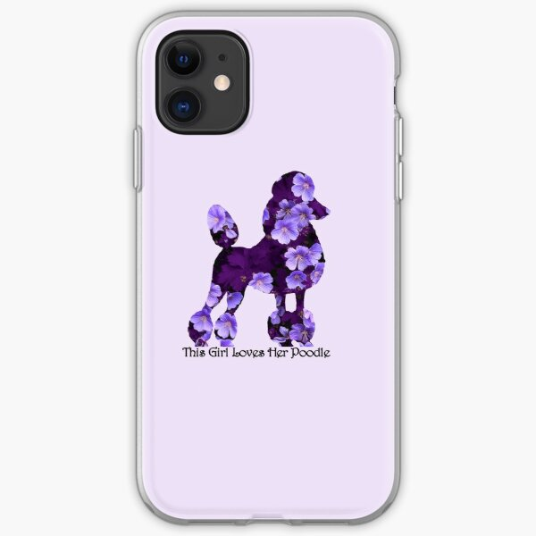 Luxury Pearl and Abalone Poodle iphone 11 case