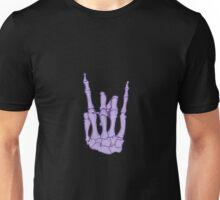 Rock On Skeleton Hand Unisex T-Shirt