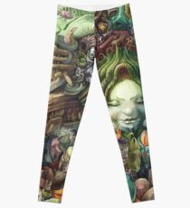 Faces Leggings