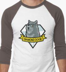 Diamond Doge Men's Baseball ¾ T-Shirt