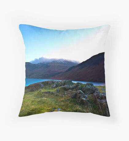 Scafell Pike - Across WastWater Throw Pillow