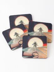 A Cup Of Sunshine Coasters