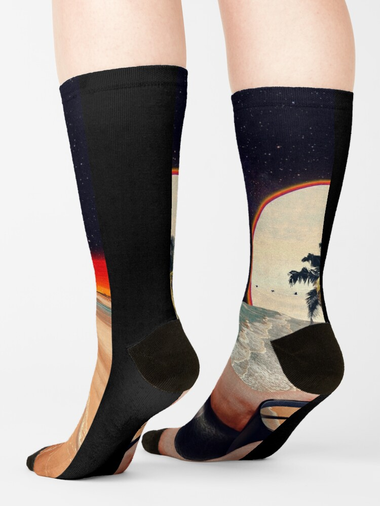 Alternate view of A Cup Of Sunshine Socks