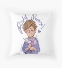 Pinky Promise, L Throw Pillow