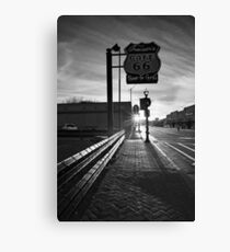 Cafe 66 Canvas Print