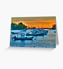 Peaceful Harbor Greeting Card