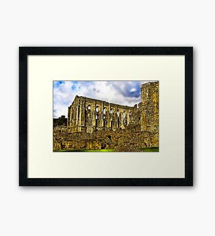 Rievaulx Abbey - North Yorkshire. Framed Print